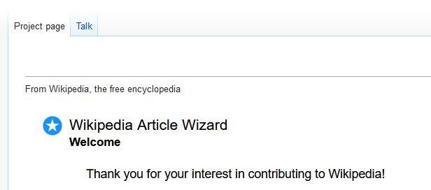 Create an article
